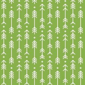 greenery cross plus arrows