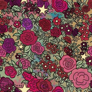 Roses and Stars