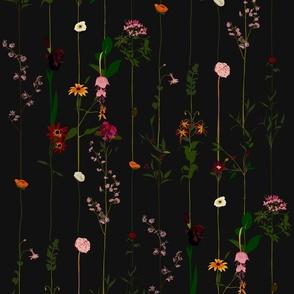 Floral Wallroll - dark