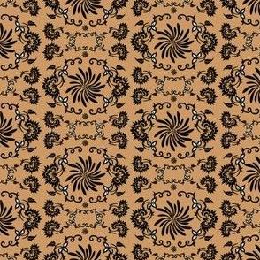 Victorian Animals Society Gentleman Dog Fabric Collection