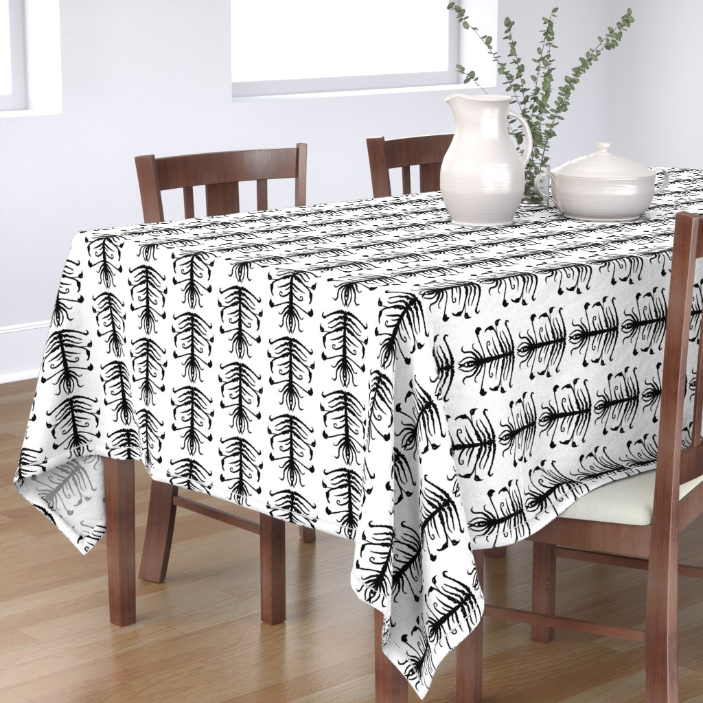 Bantam Rectangular Tablecloth featuring Sprouts by blayney-paul