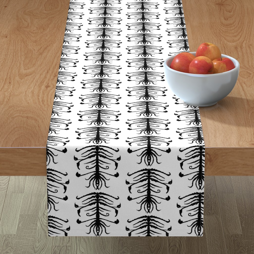 Minorca Table Runner featuring Sprouts by blayney-paul