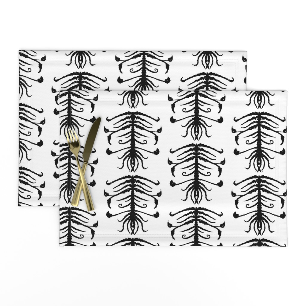 Lamona Cloth Placemats featuring Sprouts by blayney-paul