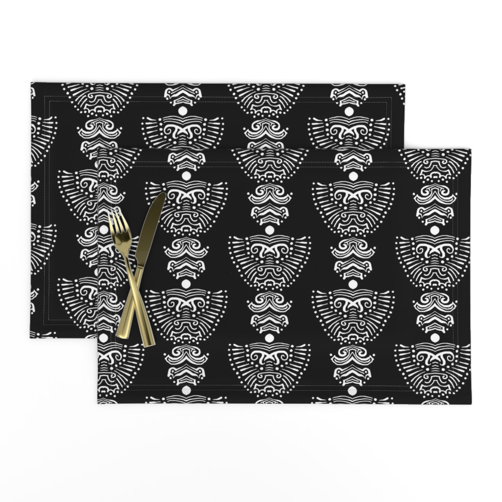 Lamona Cloth Placemats featuring Lions by blayney-paul