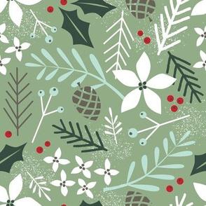 evergreen moss