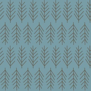 branch motif slate