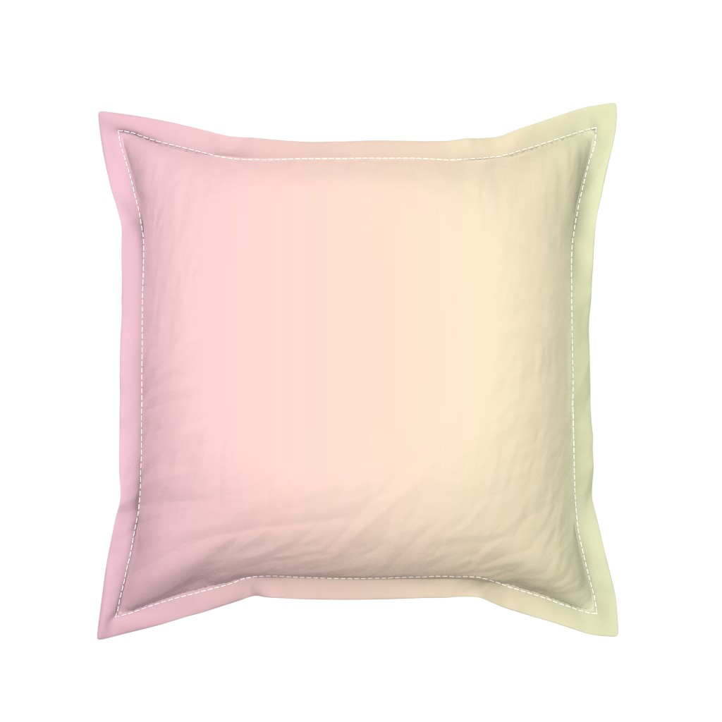 Serama Throw Pillow featuring rainbow_pastel_blend by aspie_giraffe