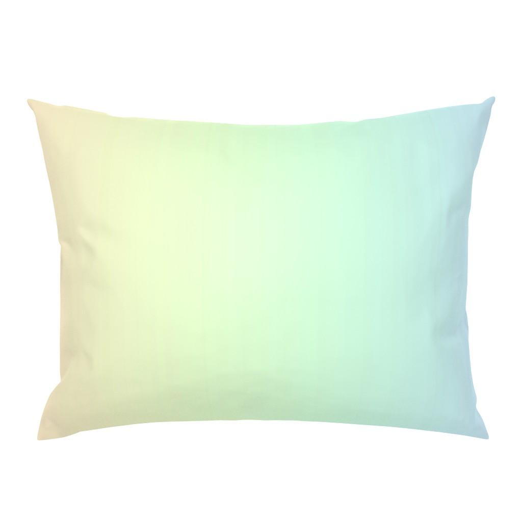 Campine Pillow Sham featuring rainbow_pastel_blend by aspie_giraffe