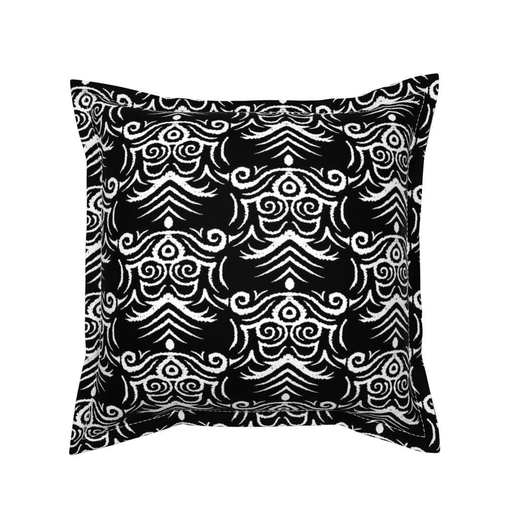 Serama Throw Pillow featuring Coats_of_Arm by blayney-paul
