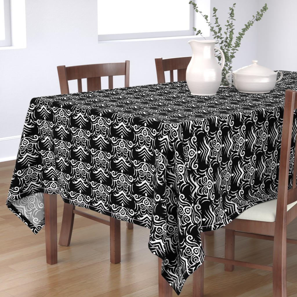 Bantam Rectangular Tablecloth featuring Coats_of_Arm by blayney-paul