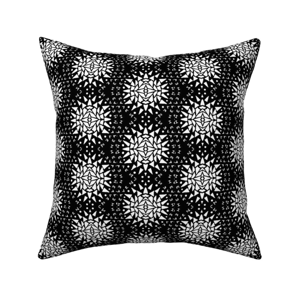 Catalan Throw Pillow featuring Heaven by blayney-paul