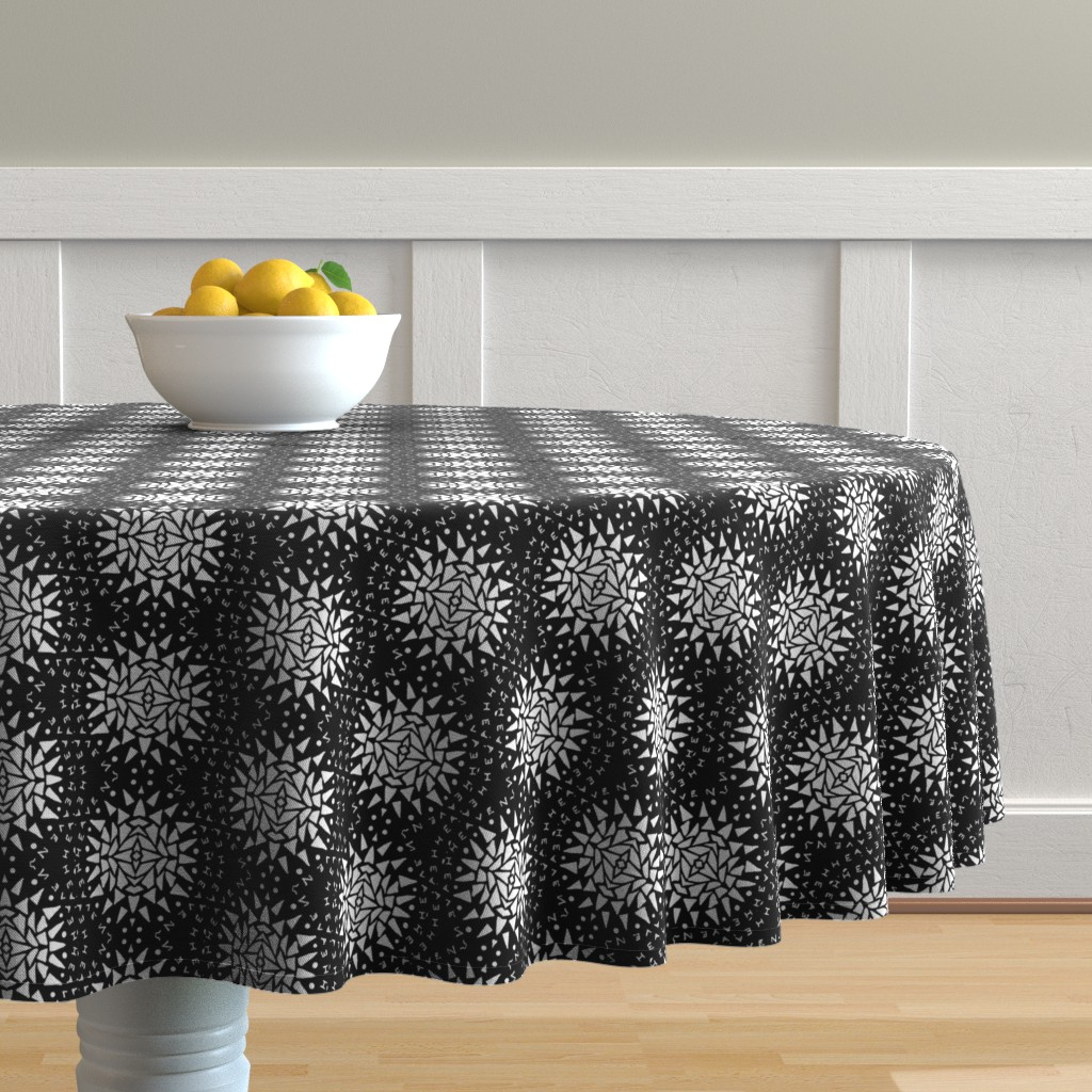 Malay Round Tablecloth featuring Heaven by blayney-paul