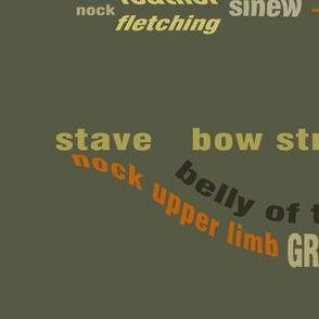 archery terms