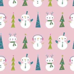 snow parade pink