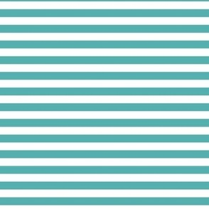 blue turquoise stripes