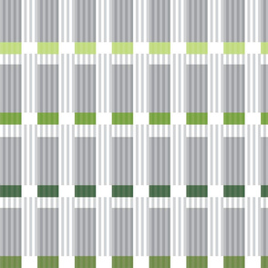Corrugated | Greens with gray