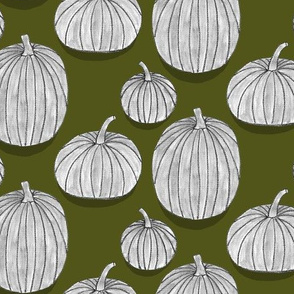 Charcoal Pumpkins
