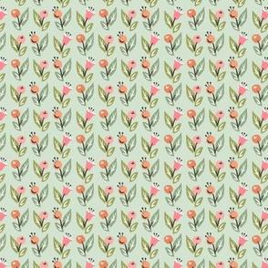 Topiary Flower Field: Mint