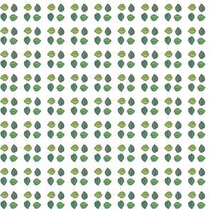 Digital Leaves | Orange squares