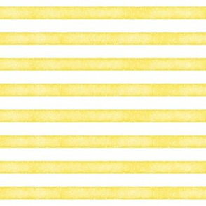 salted watercolor stripes // yellow
