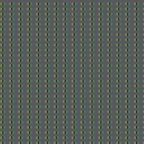 Capsules | Greens on dark gray