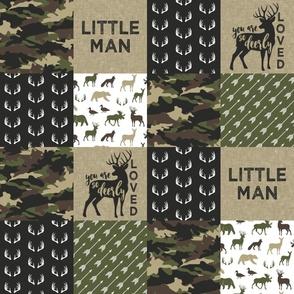 Little Man - Woodland wholecloth - C2 camouflage