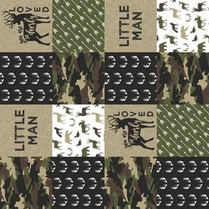 Little Man - Deer Woodland wholecloth - C2(90)