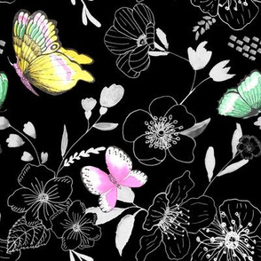 Butterfly Rhapsody in Black