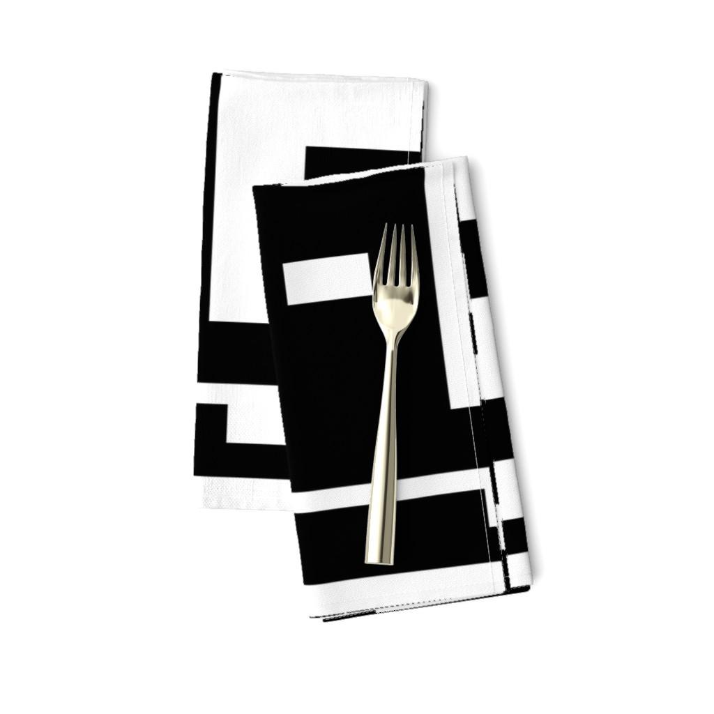 Amarela Dinner Napkins featuring Line_House by blayney-paul