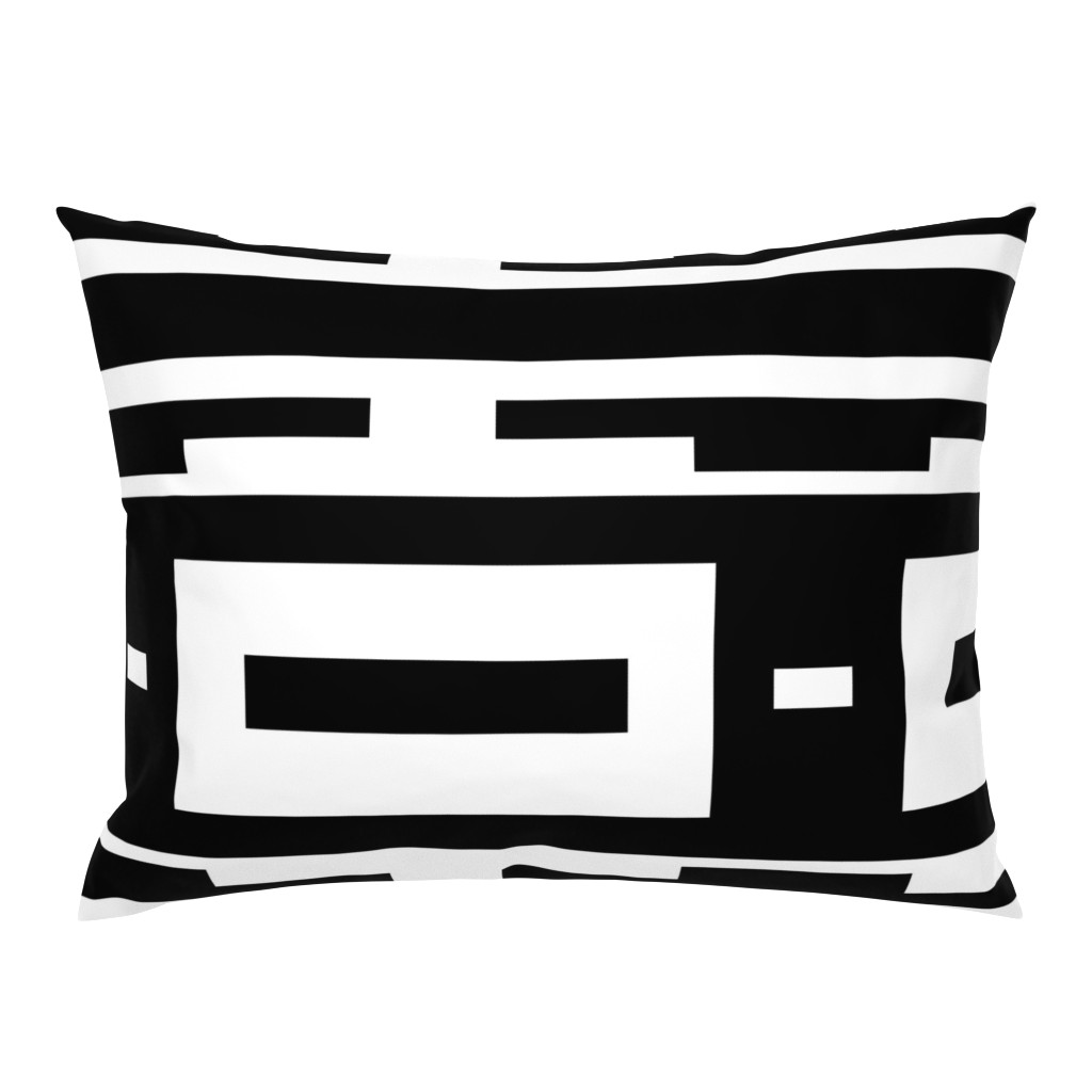 Campine Pillow Sham featuring Line_House by blayney-paul