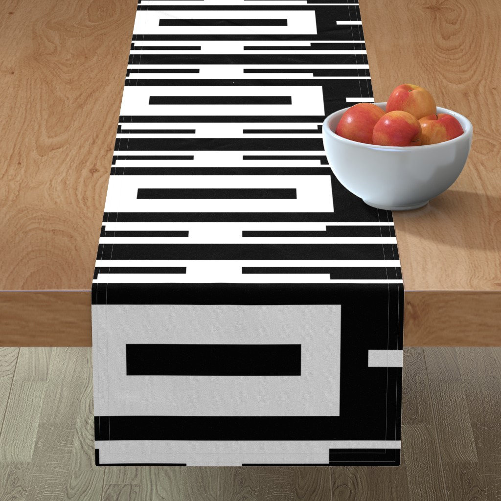 Minorca Table Runner featuring Line_House by blayney-paul