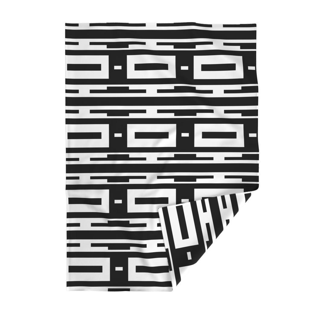 Lakenvelder Throw Blanket featuring Line_House by blayney-paul