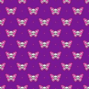 Cute Butterfly Skulls