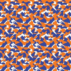 Orange&Blue Camo