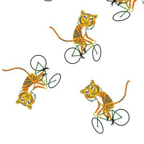 Biking Tiger
