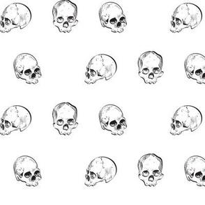 Polkadot Skulls
