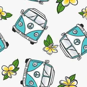 Aqua VW Kombi