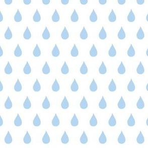 Rainy Days  (light sky blue)