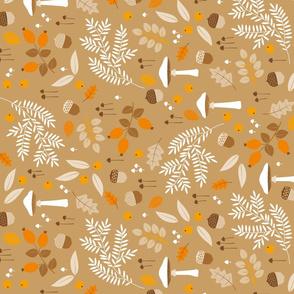 fall botanical print