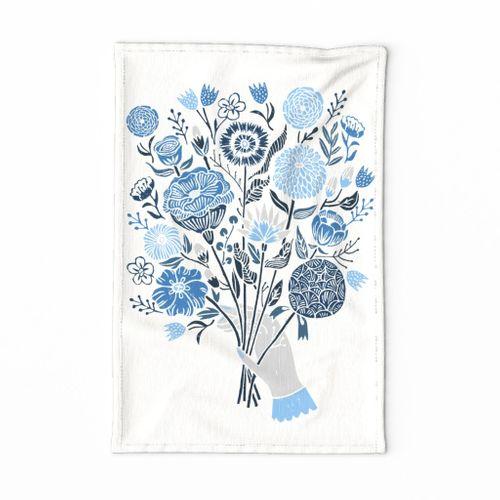 Botanical Tea Towel by Andrea Lauren