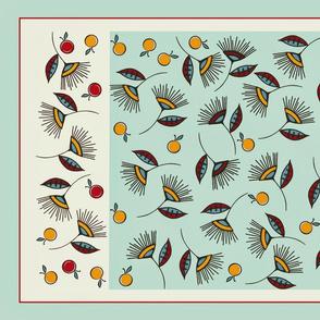 Botanical Bloomers tea towels sewindigo