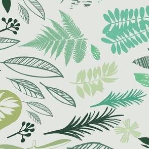 Botanical Block Print Design