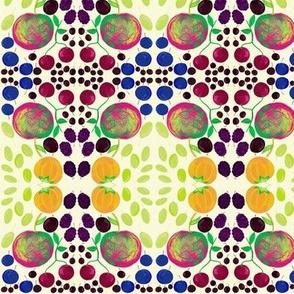 Summer Fruit with Crisp Apples Mosaic Tiles