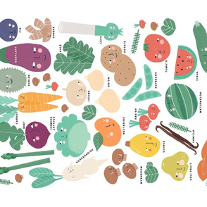Fruit & Vegetable ABC
