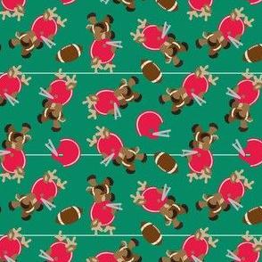 Football Reindeer
