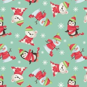 Christmas Winter Scarf