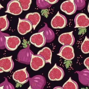 juicy purple figs