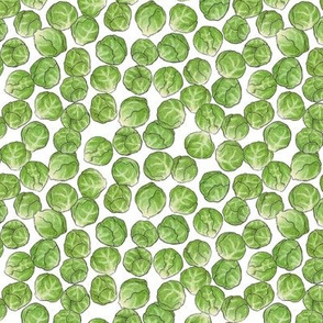 Christmas Brussel Sprouts - smaller scale
