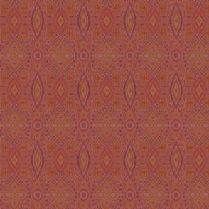Rustic Ikat