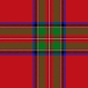 """Royal Stewart universal tartan, 6"""""""